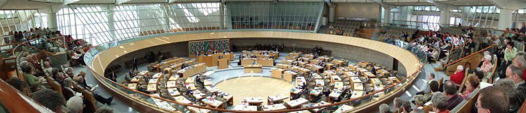 Abbildung 11: Plenarsaal des Landtags (c) Philipp  Sanke